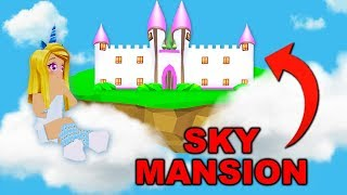 I Bought A Huge SKY MANSION In Adopt Me! (Roblox)