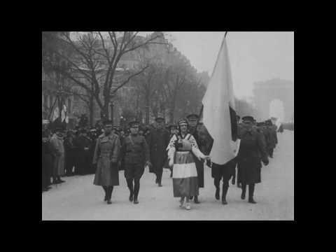 Celebrations in Paris-Liberation of Alsace-Lorraine, November 17, 1918