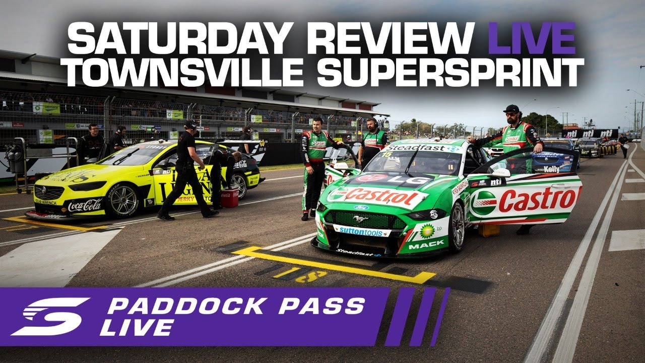 Saturday Repco Paddock Pass REVIEW LIVE - Townsville SuperSprint   Supercars 2020