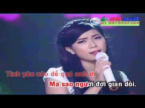 Lời Anh Hứa  Karaoke  CS  Trần Thu Thảo