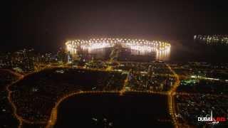 Dubai New Year Fireworks 2014 - World Record 4K