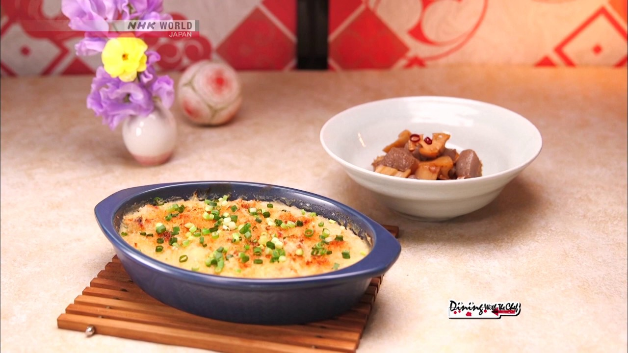 Photo of Chef Saito's Chicken Miso Gratin [Japanese Cooking] – Dining with the Chef – video