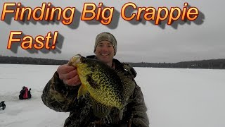 Breaking Down A Lake And Locating Crappie Fast (In 2019)