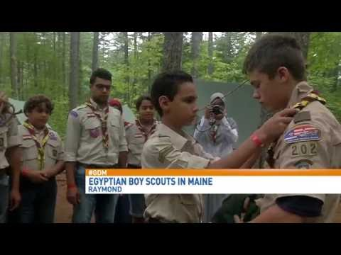 Camp Hinds Hosts Boy Scout Troop From Egypt