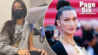 Bella Hadid reveals vaccination status after skipping Met Gala 2021   Page Six Celebrity News
