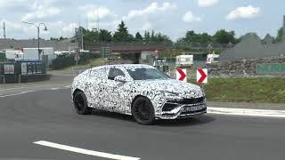 Hear the 2018 Lamborghini Urus Roar In This New Spy Video