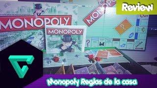 [Review] Monopoly Reglas de la casa de Hasbro Gaming