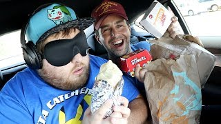 Download GUESSING THE FAST FOOD ITEM BLINDFOLD CHALLENGE! Mp3 and Videos