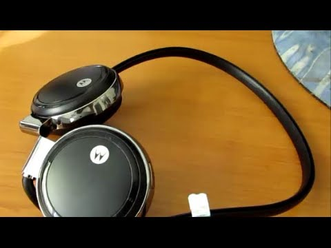 Motorola S305 Wireless Stereo Headphones Review Youtube