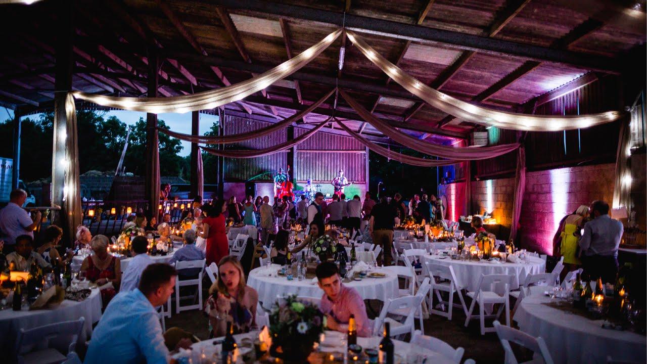 Wedding Venue Set Up TIME LAPSE - YouTube
