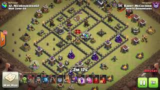 9v9 6 Pack | North Remembers vs War Zone 68 | CWL | Clash of Clans