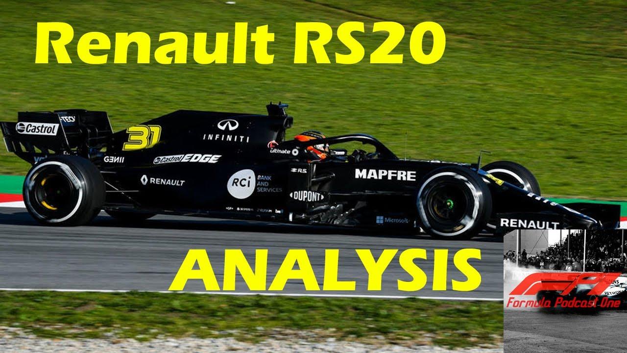 F1 2020 Renault RS20 Analysis