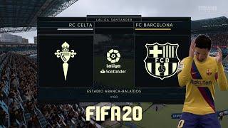 Fifa 20 |la liga week 32| - celta vigo vs barcelona (no stadium sound)