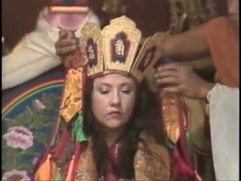 Enthronement of Jetsunma Ahkon Lhamo (8 min)
