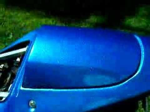 Ice Blue Car Paint Color