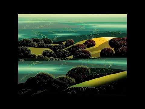 Eyvind Earle  (1916-2000) Illustrator Disney American