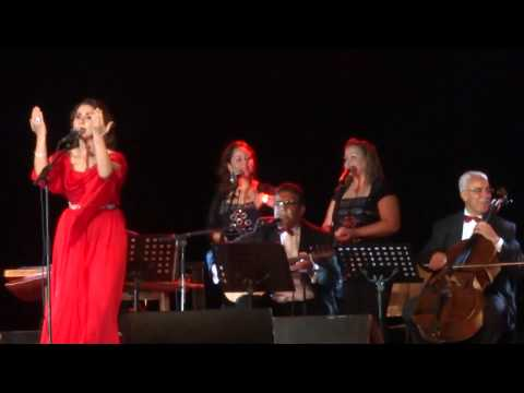 Nabiha Karawli at Carthage National Museum - Carthage Festival 2014