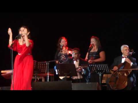 Nabiha Karawli at Carthage National Museum - Carthage Festival 2014