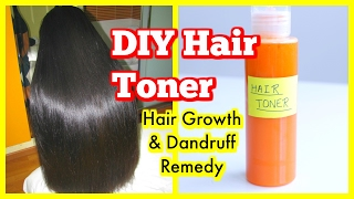 Hair Toner For Hair Growth |How To STOP Hair Loss and Dandruff | SuperPrincessjo
