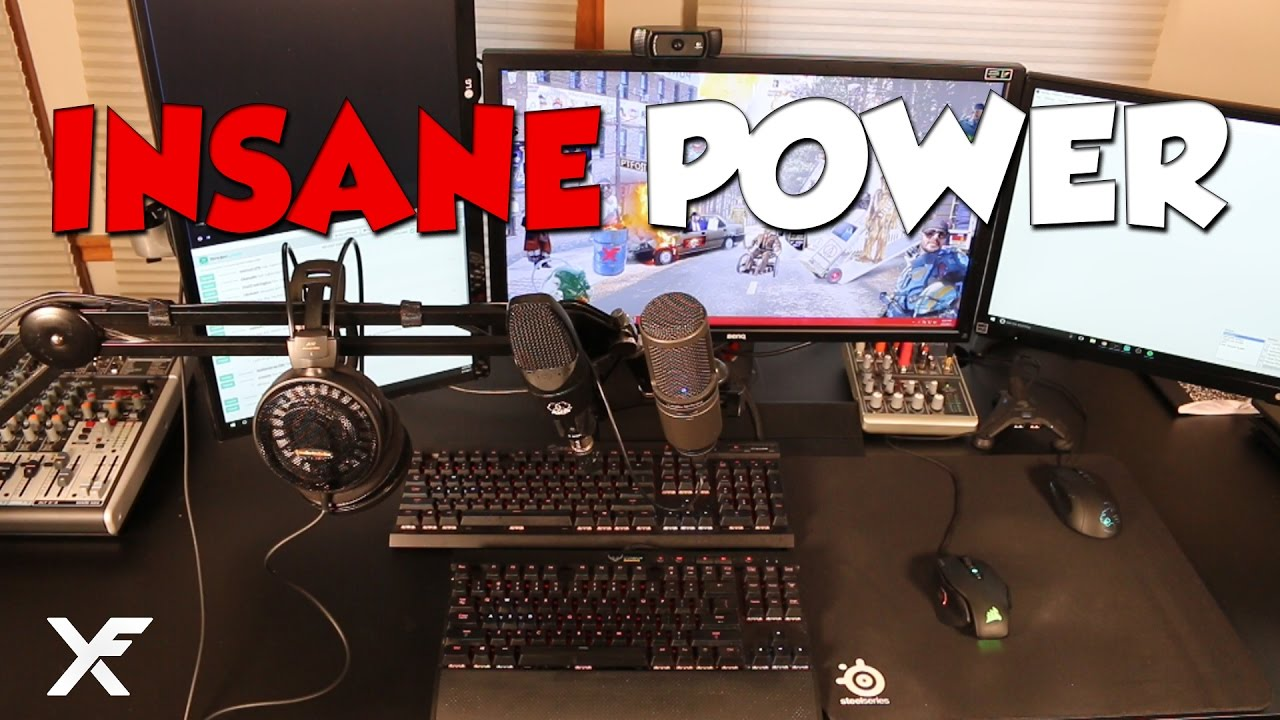 Insane Power Xfactor S Dual Pc Live Streaming And Gaming