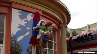 Newly Remodeled Lego Store @ Downtown Disney - Disneyland - 2012