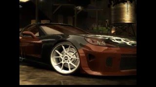 NFS MOST WANTED MODİFİYE CARS SPEED