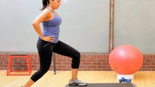 How to Do a Step-up with a Kick Back | Female Bodybuilding