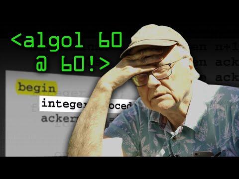 ALGOL 60 at 60 - Computerphile