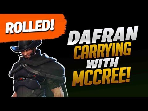 Dafran Carrying With McCree! - Overwatch