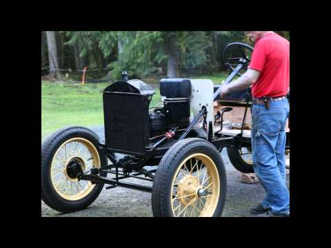 1926 Model T Ford - First Start and Drive
