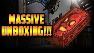 INSANE HALLOWEEN UNBOXING!!! [40+ HAUNTED CASES] (ROBLOX ASSASSIN)