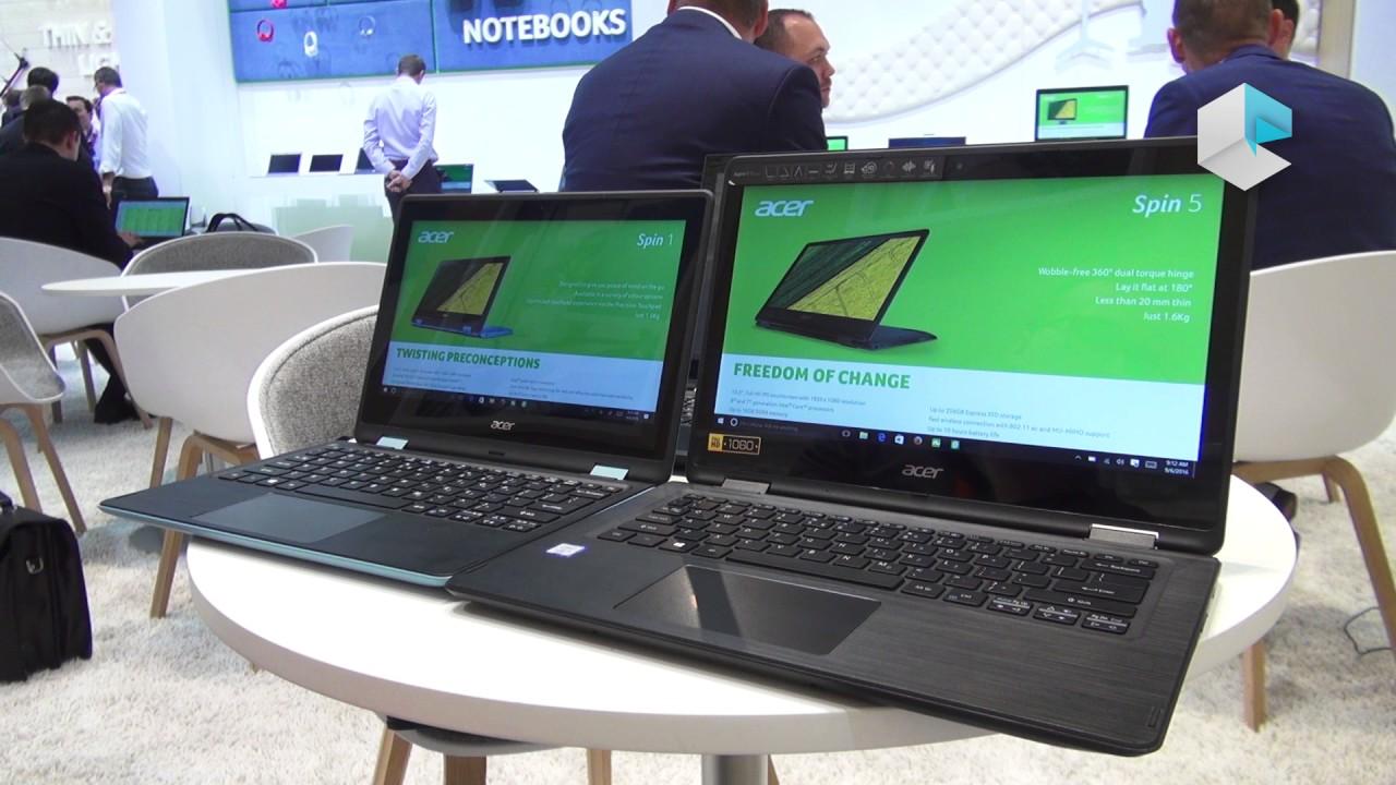 06df00b5187e2 Acer Spin 7, Spin 5, Spin 3 e Spin 1. Notebook Italia
