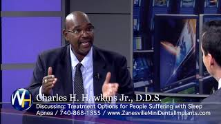 Treatment Options for Sleep Apnea with Zanesville, OH dentist, Charles Hawkins, DDS