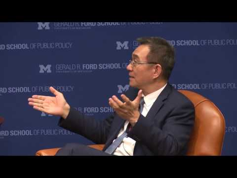 .@fordschool - Justin Lin: The future of U.S-China economic relations