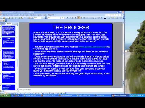 Short Sale Workshop - The Complete Step-by-Step Short Sale Webinar