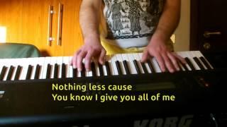 Gwen Stefani - 4 In The Morning KARAOKE PIANO REQUEST