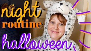 MA HALLOWEEN NIGHT ROUTINE 🎃💀