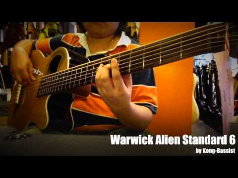 Warwick Alien Standard 6 Play By Keng-Bassist
