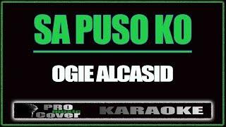 Video Sa Puso Ko - OGIE ALCASID (KARAOKE) download MP3, 3GP, MP4, WEBM, AVI, FLV Juli 2018