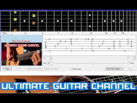 [Guitar Solo Tab] Por Una Cabeza (Carlos Gardel)