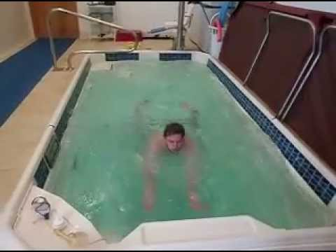 Aquatic Therapy - Swimming in a Resistance Pool