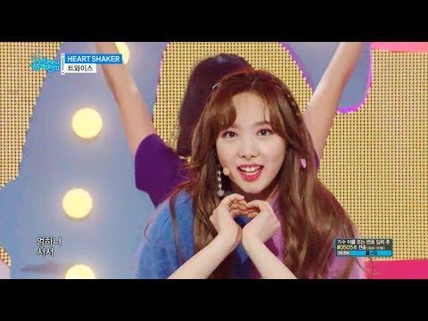 �TVPP】 TWICE -  HEART SHAKER, 트와�스- 하트세�커 @show Music Core