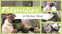 Putzroutine und Merkur Haul / clean and shop with me