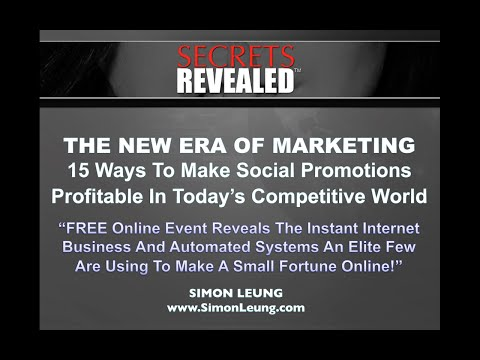 The New Era Of Marketing: 15 Ways To Make Social Promotions Profitable In Today's Competitive World