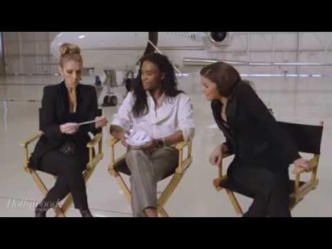 Celine Dion, Zendaya and Law Roach -The Hollywood Reporter