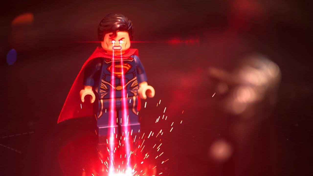 Superman Lego Heat Vision Youtube