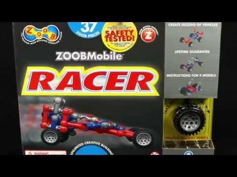 ZOOB Mobile Racer Car Set  #0Z12051