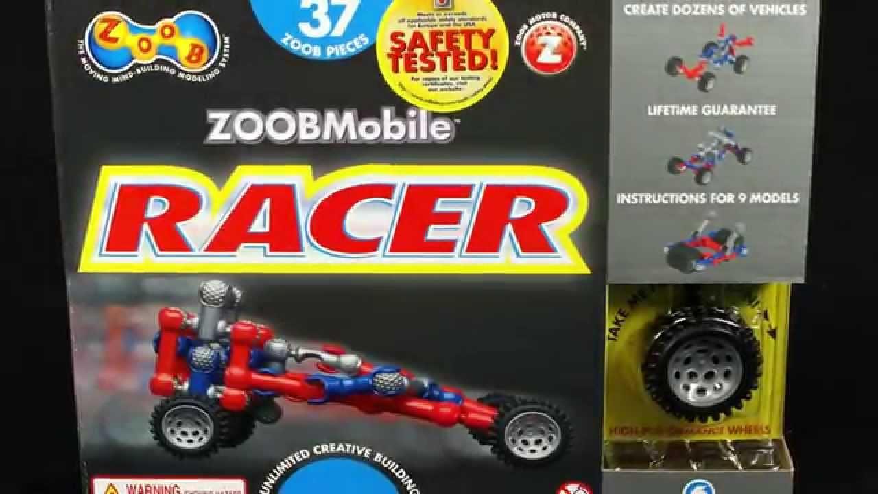 Zoob Mobile Racer Car Set 0z12051 Youtube
