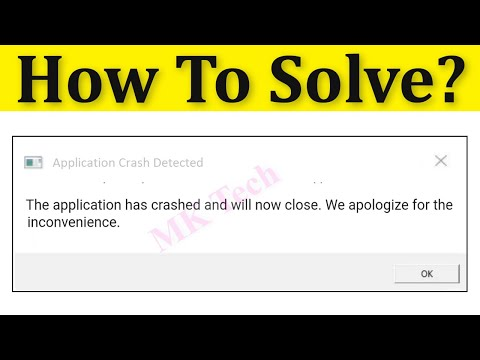 How To Fix The Application Has Crashed And Will Now Close - Fortnite Bug Solved