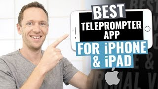 best Teleprompter App for iPad and iPhone